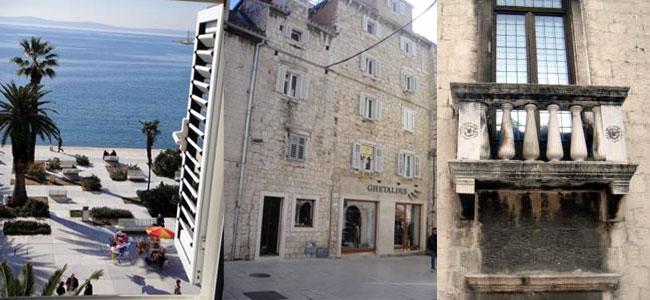 По отзывам туристов лучшим отелем в Сплите является Central Palace Rooms 4*