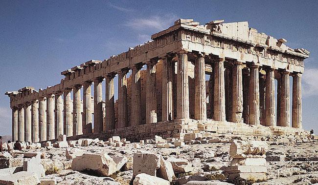 Парфенон - греческий храм богини Афины